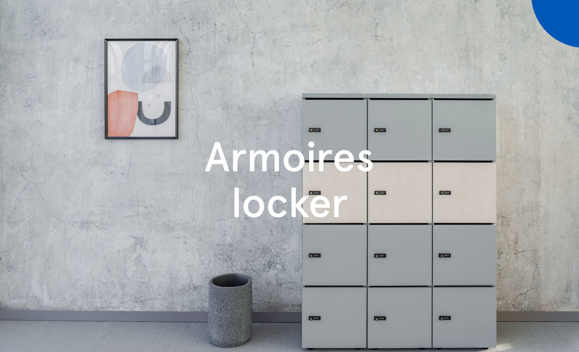 Armoires locker